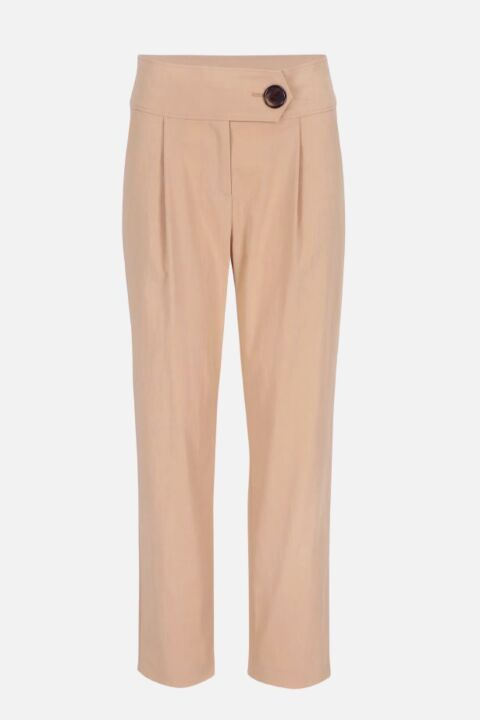 TAPERED TROUSERS WITH WAISTBAN