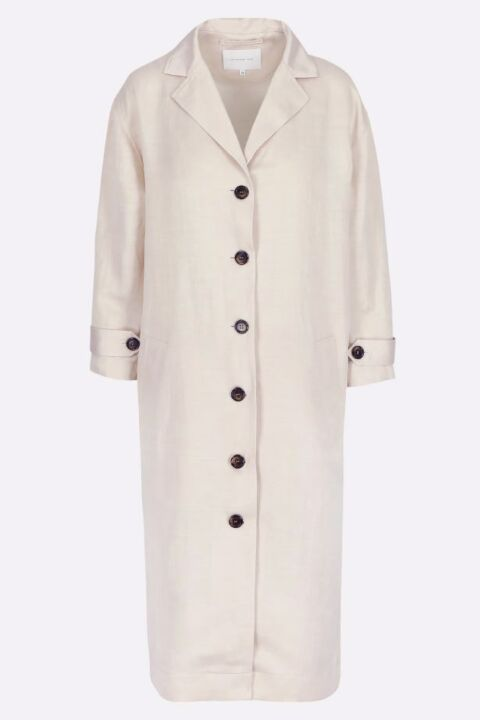 COAT DRESS WITH LAPEL