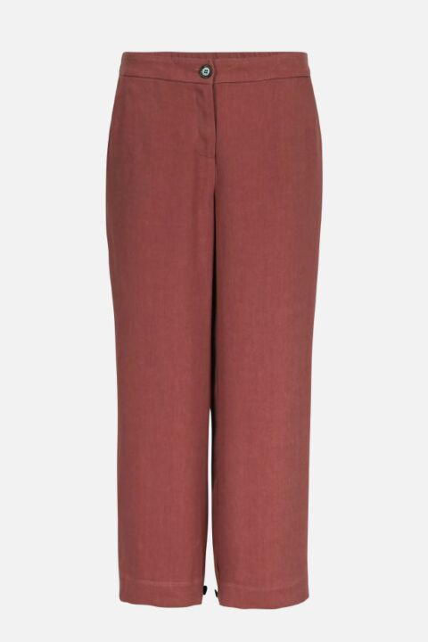 TROUSERS WITH ADJUSTABLE HEMS