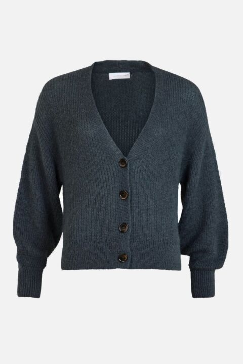 DROPPED SHOULDER CARDIGAN