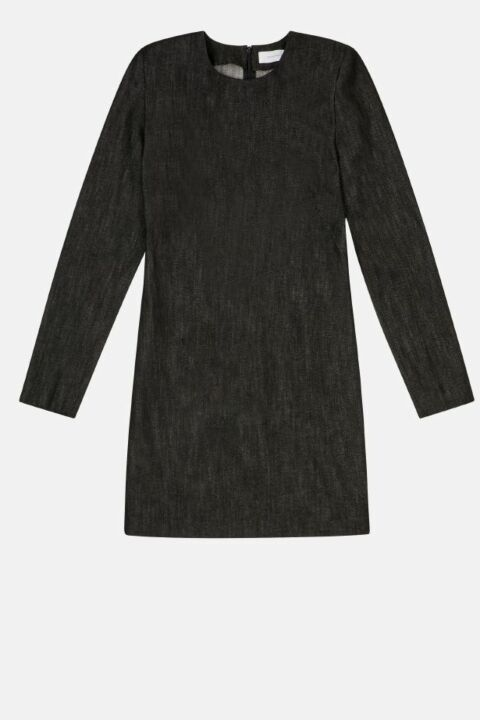 Mini dress with long sleeves