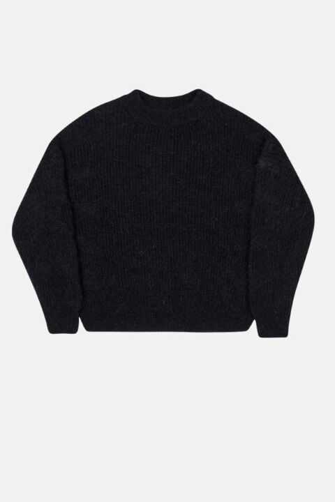 Mohair knit with ajour details